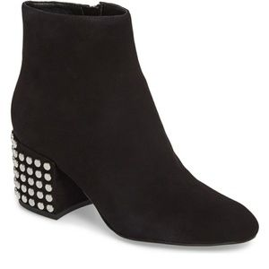 Nordstrom Kendall & Kylie studded suede booties!!